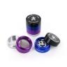 Gekleurde Metalen Grinder (4-delig)