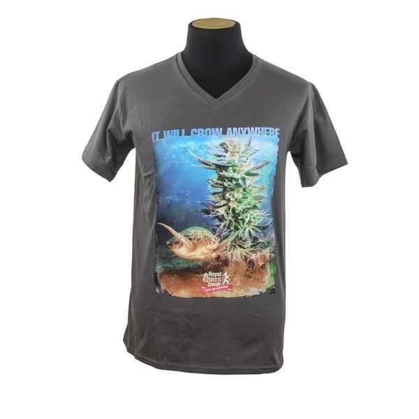 Royal Queen Seeds T-shirt Schildpad