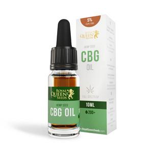 5% CBG & 2,5% CBD Olie