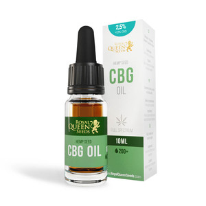 2,5% CBG & 2,5% CBD Olie