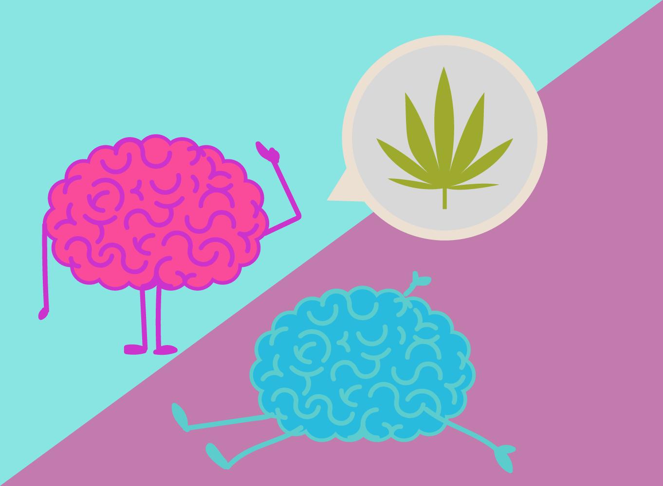 cannabis man vrouw reacties biochemie THC oestrogeen testosteron effecten