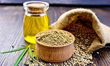 Olijfolie met cannabis