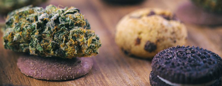 Zelfgemaakte Cannabis koekjes