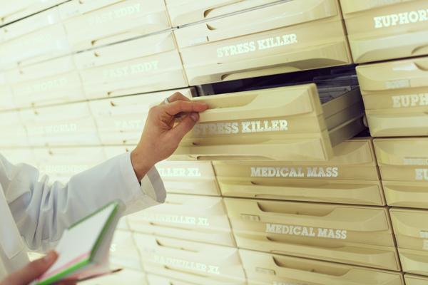 italië farmaceutische geneeskunde arts Bedrocan FM2