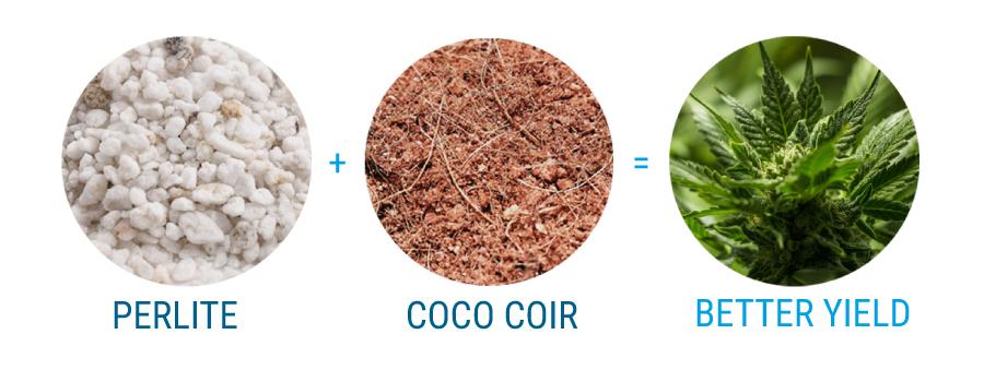 perlite e kokosvezel