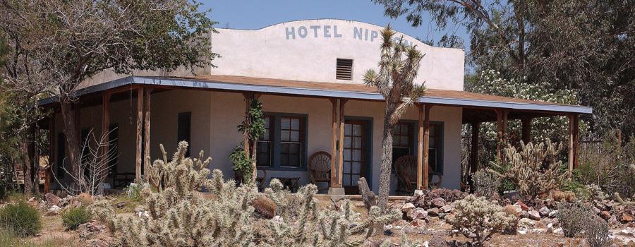 Nipton Hotel California canna toerisme
