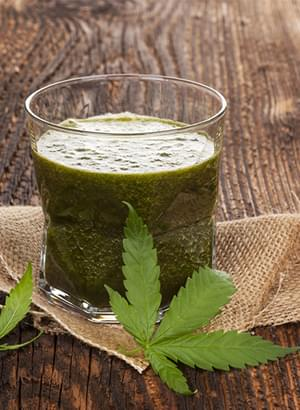 Marijuana Ruwe Smoothie