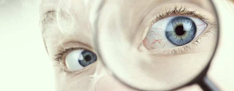 Rode ogen cannabishypertensie