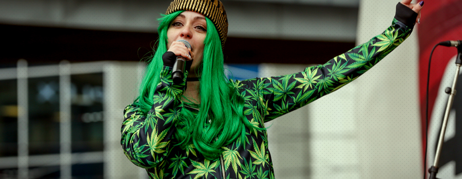 Mainstream couture stof cannabis bedrijf