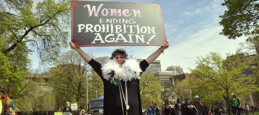 vrouwen feminisme cannabis toonaangevende revolutie legalisatie