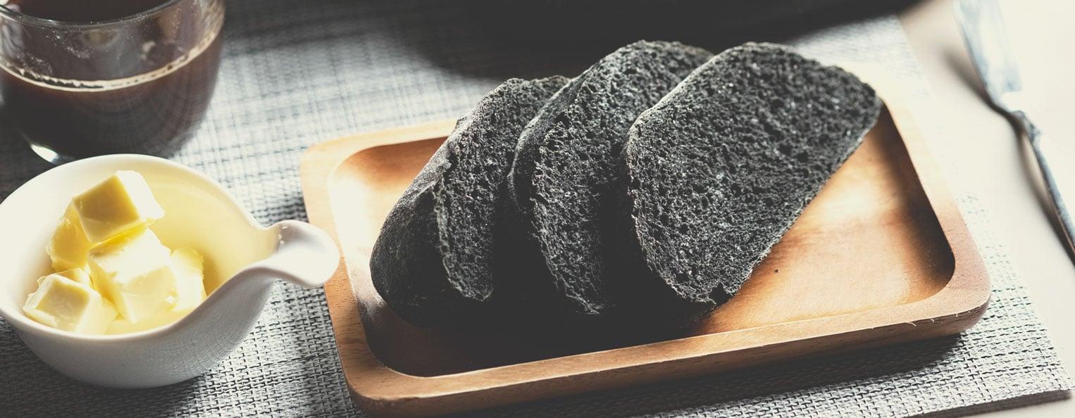 Recept voor houtskoolbrood