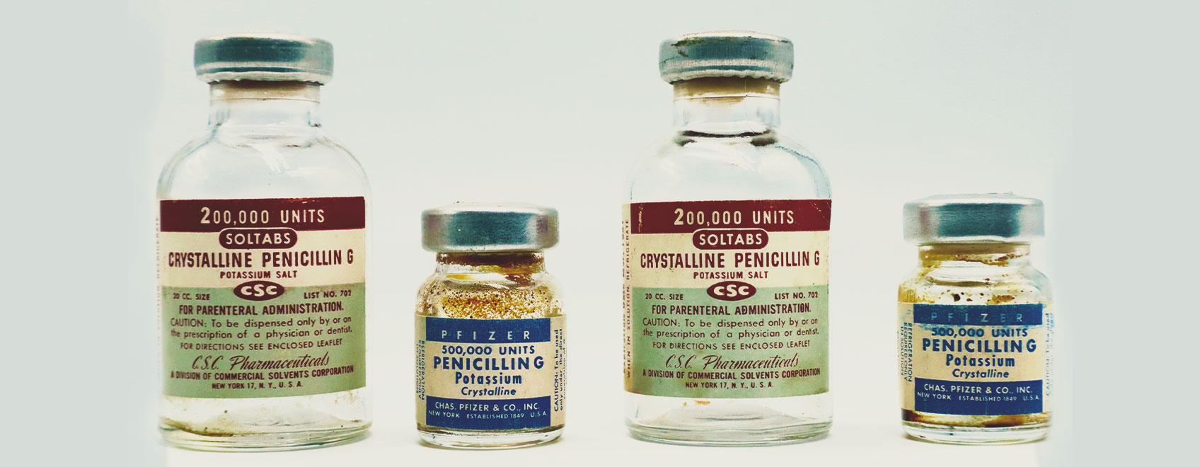 Een korte geschiedenis van antibiotica