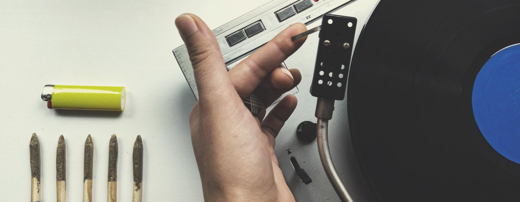 Zowel Wiet als Muziek Hebben Ontspannende Eigenschappen