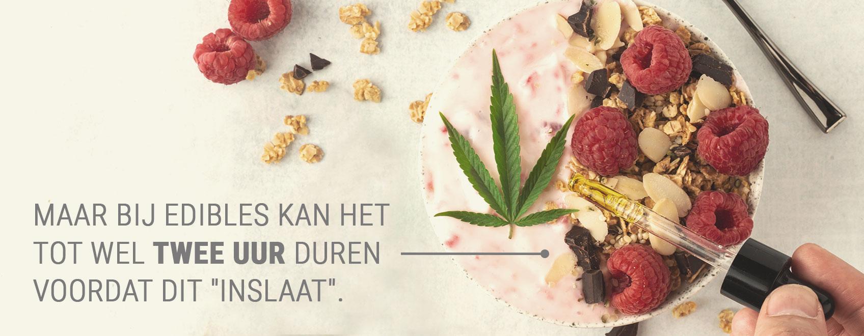 Wat is oraal gebruik van cannabis?