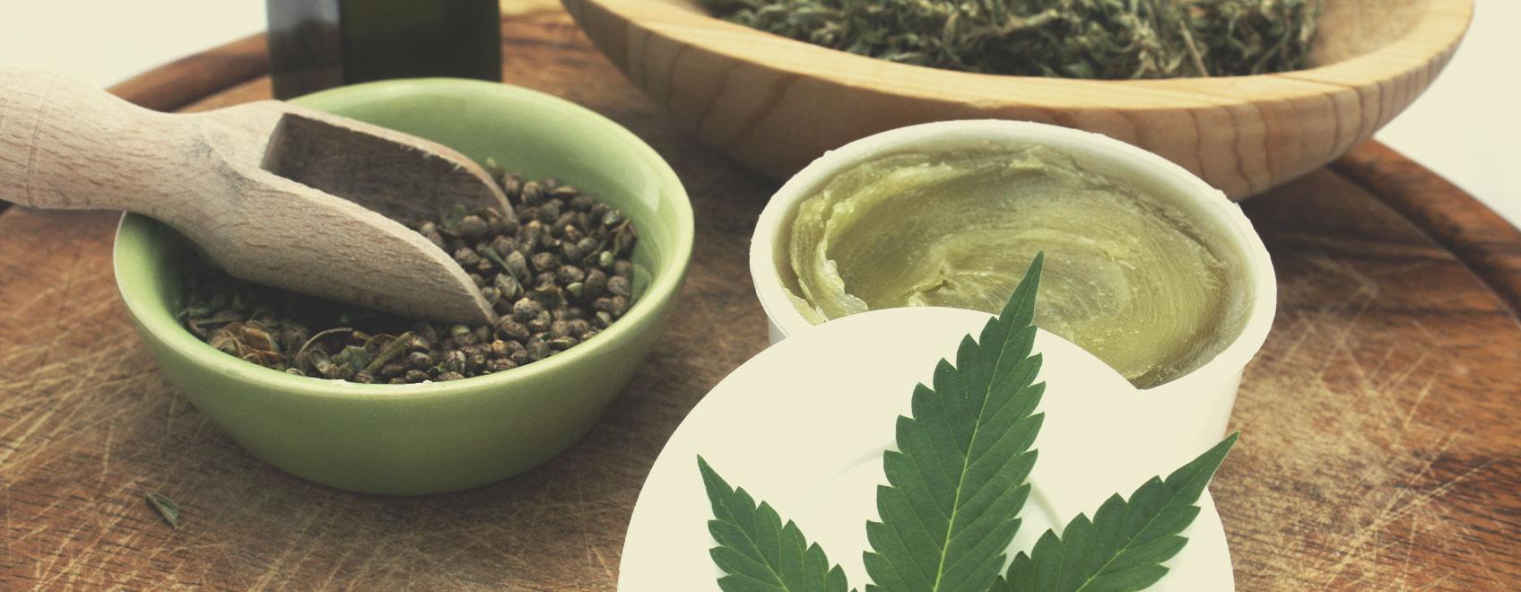 Hoe maak je biologische cannabiszalf?
